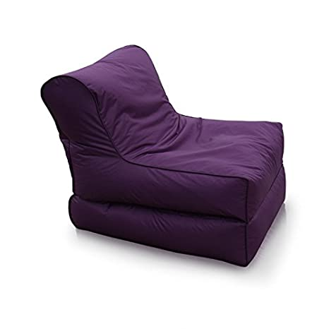 Astonishing Waterproof Nylon Living Room Beanbag Sofa Recliner Furniture Chair Polyester Outdoor Purple No Filler Cover Only Andrewgaddart Wooden Chair Designs For Living Room Andrewgaddartcom