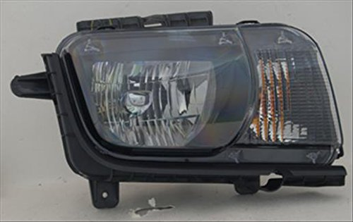 OE Replacement Headlight Assembly CHEVROLET CAMARO 2010-2013 Multiple Manufacturers GM2503346C Partslink GM2503346