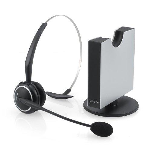 Jabra GN9125 Mono Flex-Boom Wireless Headset for Deskphone (Certified Refurbished)
