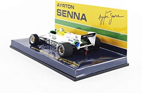 Minichamps 540834301 1983 Williams FW 08C Ford-Ayrton Senna Model Toy 1:43 Scale