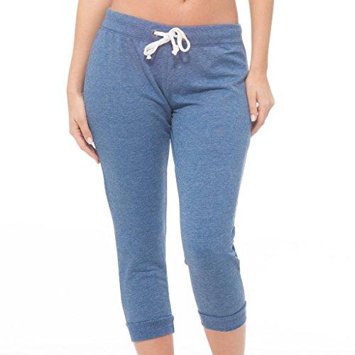 [E165XC-HD-3X] Coco-Limon Women's Plus Size Joggers – French Terry Drawstring Sweatpants – Activewear, Yoga Pants