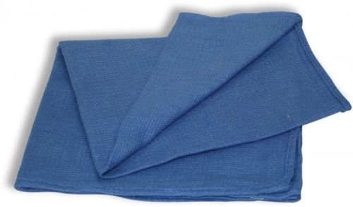 GHP 120-Pcs Blue 15''x25'' Industrial Janitorial Glass Cleaning Huck Towels