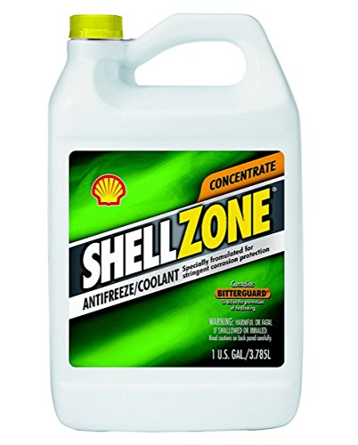 Shellzone 9401006021 Concentrated Antifreeze/coolant, 1 Gallon (Pack Of 6) by Pennzoil