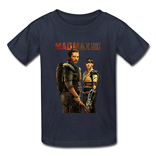 Thunderdome Max Costumes Beyond Mad (AOPO Mad Max 4 Fury Road Tshirts For Kids Unisex Large)