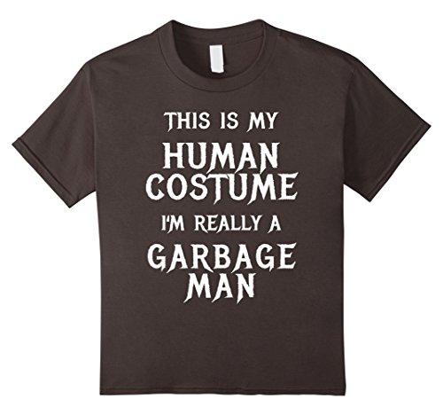 Kids I'm Really a Garbage Man Halloween Costume Shirt Easy Funny 10 (Really Last Minute Halloween Costume Ideas)