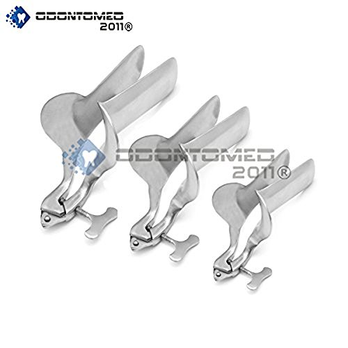 OdontoMed2011® SET OF 3 PIECES COLLIN SPECULUM SMALL,MEDI...