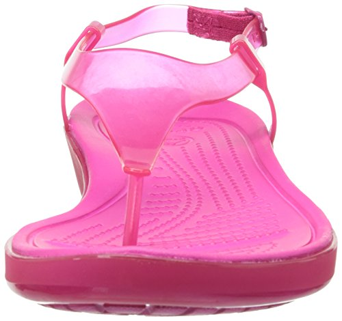 Crocs Women's Really Sexi T-Strap Sandal Candy Pink/Candy Pink rNoFEuto