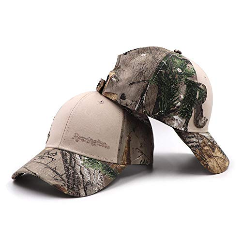Remington Outdoor Fishing Cap Jungle Baseball Caps Hunting Hat Bionic Breathable Cotton Camouflage