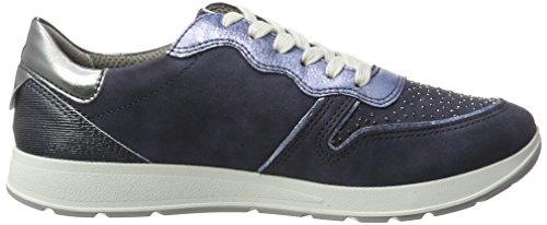 Jenny Donne Sneaker Blu Glendale (indaco / Cielo, Acciaio / Titanio)