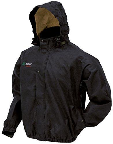 Frogg Toggs PS63173-01LG Bull Frogg Jacket, Black