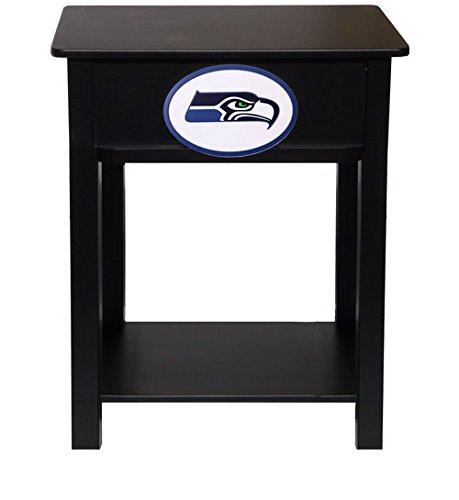 Fan Creations N0533-SEA Seattle Seahawks Nightstand/Side Table by Fan Creations