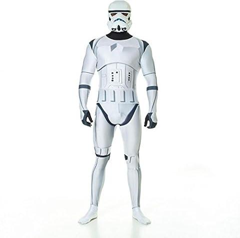 Star Wars Stormtrooper Adult Zapper Cosplay Costume Digital Morphsuit   XL (Zapper Digital)