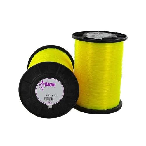 Image of Ande MY-4-125 4 lbs Monster Yellow 125 lbs Test Fishing Line