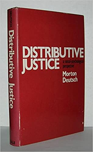 Theoretical History and Background of Distributive Justice