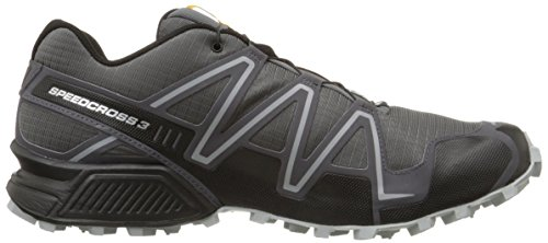 Salomon Men's Speedcross 3 Trail Running Shoe,Dark Cloud/Black/Light Onix,10.5 M US