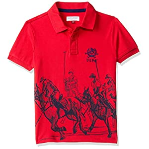 US Polo Association Boy's Regular Fit T-Shirt
