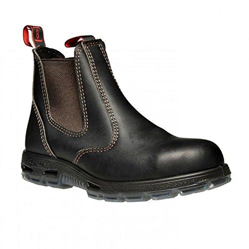 RedbacK Men's Bobcat UBOK Elastic Sided Soft Toe Leather Work Boot (10 AU 3E (11 M US Men)) Dark Brown by RedbacK