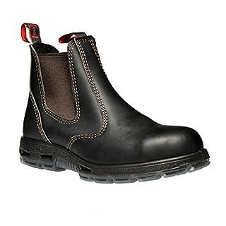 9208fac8e9e RedbacK Men's Bobcat UBOK Elastic Sided Soft Toe Leather Work Boot ...