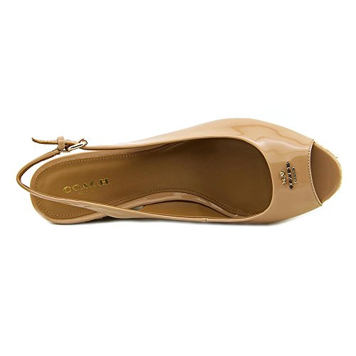 01ff95508 Coach Ferry Women Open Toe Synthetic Nude Wedge Sandal cheap ...