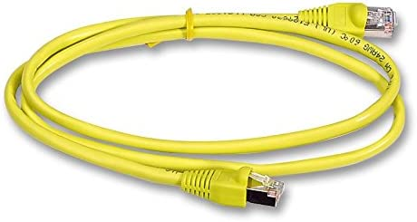 Yellow CAT5E STP 10M SANOXY Network Cables SNX- 1962-10Y Lead