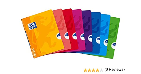 Oxford Openflex 400062603 - Pack de 10 libretas grapadas de tapa blanda, A5+: Amazon.es: Oficina y papelería