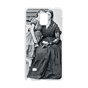 Samsung Galaxy Note 4 Cell Phone Case White_Confederate Spy Rose Greenhow and Daughter Uqbwr