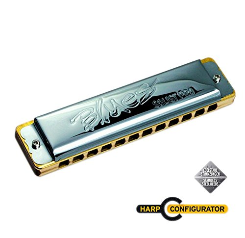 SEYDEL Blues SOLIST PRO 12 STEEL Harmonica Low C by Seydel