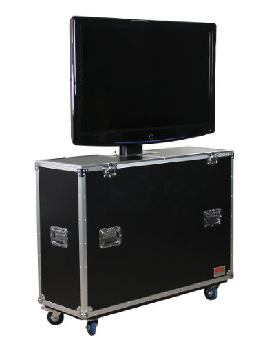 Gator G-TOUR ELIFT 55 ATA Flight Case w/ Electric Lift for LCD and Plasma Screens by Gator