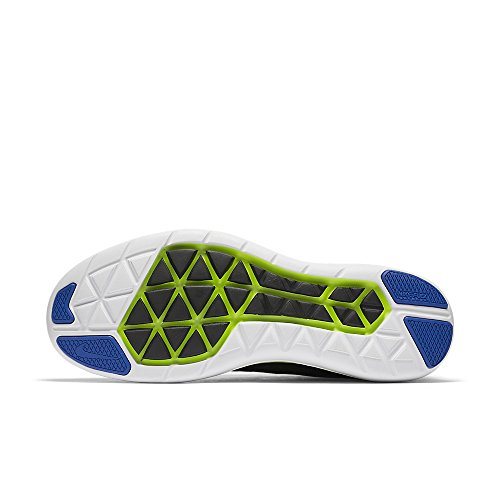 Nike Mannen Flex 2016 Rn, Zwart Zwart / Donker Grijs / Ghost Groen / Wit