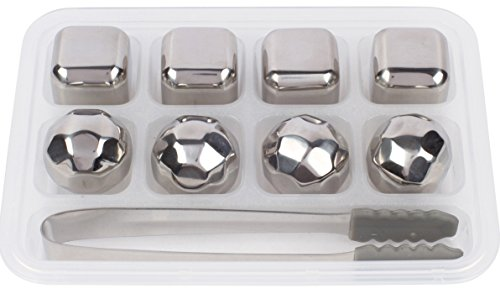 Xummit Whiskey Stones Stainless Diamonds product image