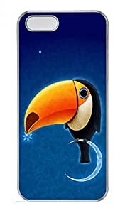 iPhone 5 5S Case Toucan Funny Lovely Best Cool Customize iPhone 5S Cover Transparent
