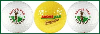 Above Par Grandpa Variety Golf Ball Gift Set