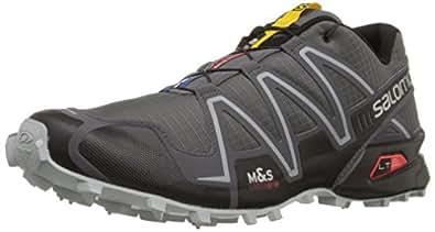 Salomon Men's Speedcross 3 Trail Running Shoe,Dark Cloud/Black/Light Onix,9.5 M US