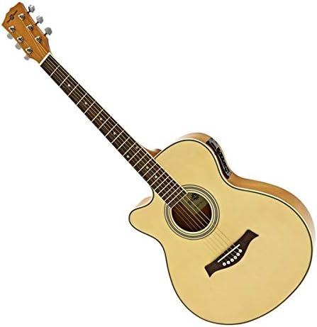 Guitarra Electroacustica Single Cutaway Zurda de Gear4music ...