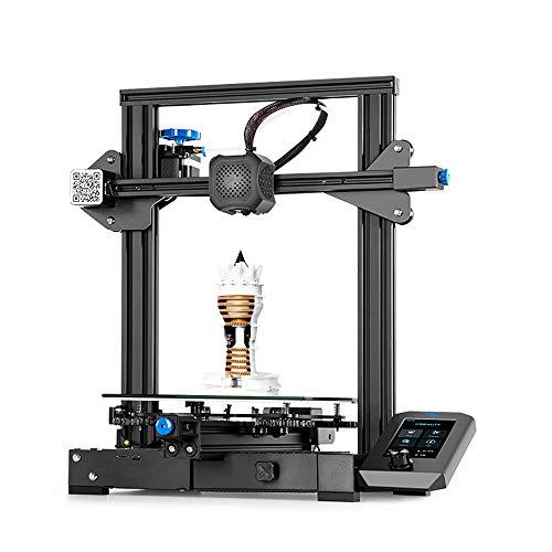 Chuiendi Creality 3D Printer Ender 3 V2, 3D Printers with Super Silent 32 Bit Board, TMC2208 Stepper Motor Driver, Tool…