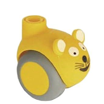Tente 5520pji050l51 – 10 gato, amarillo rueda giratoria, amarillo (Pack de ...