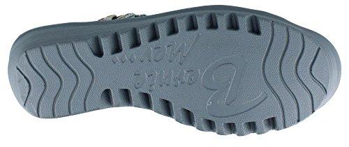 Bernie Mev Mujeres Crystal Sandal Grey Multi