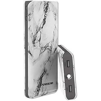 POWEROWL Portable Charger 20000mAh with LED Flashlight Dual USB 4.8A Output & Input, Power Bank External Battery Pack Backup Cargador Portatil Compatible ...