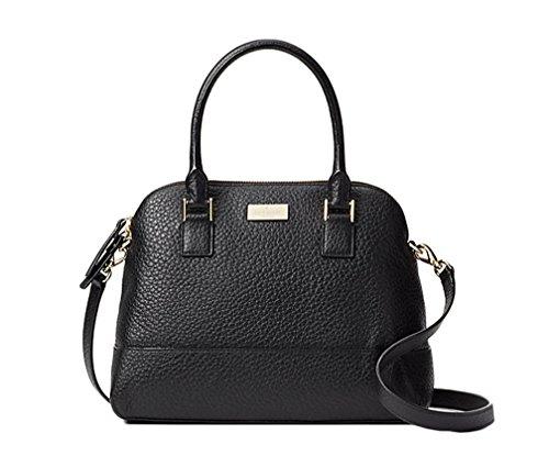 Kate Spade New York Prospect Place Small Jenny Satchel Handbag - Black