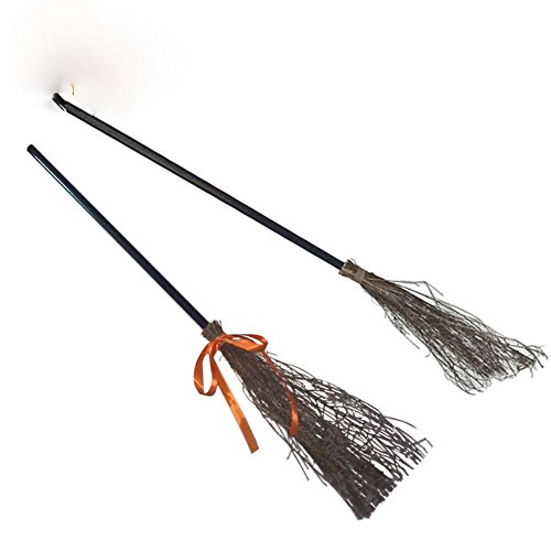 Lecent@ 39 Inch Halloween Decoration Costumes Witch Broom