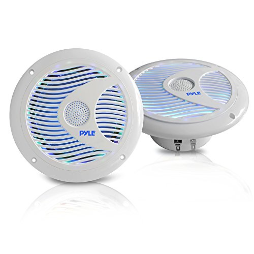 Pyle PLMR6LEW Waterproof Speakers Multi Color