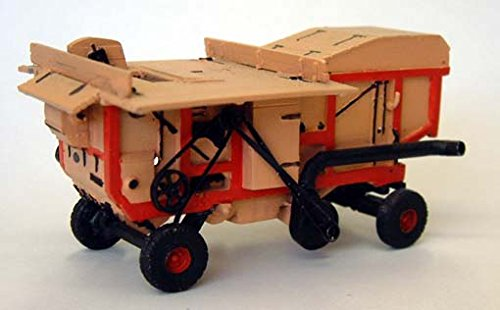 (Langley Models Garvie Threshing Machine 1930's OO Scale UNPAINTED Model Kit G155)