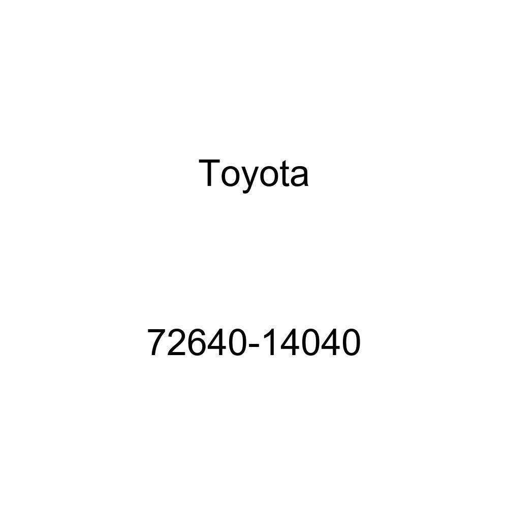 TOYOTA Genuine 72640-14040 Seat Back Lock Sub Assembly