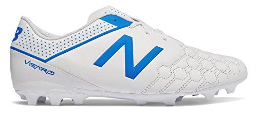 口実深さささやき(ニューバランス) New Balance 靴?シューズ メンズサッカー Visaro Liga Full Grain FG White with Bolt ホワイト ボルト US 8 (26cm)