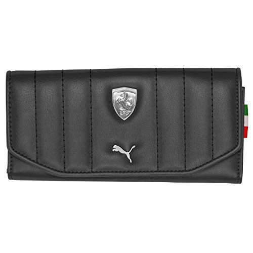 (Puma Women's Ferrari F Wallet, Black, 8.5