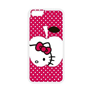 iPhone 6 4.7 Inch Cell Phone Case White Hello Kitty Peek A Boo BNY_6774843