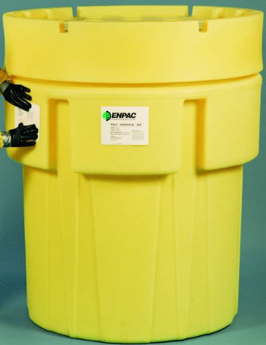(Enpac 1051-YE Poly-Overpack, 600 Gallons Spill Capacity, 71