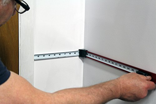 Zip Measure is a measuring tape designed to measure at 90 degree angles. This one of a kind tool measures up to 24'' by Zip Measure (Image #1)