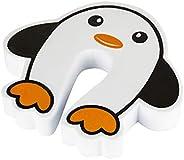Protetor De Dedos Para Porta Pinguim, Kababy, Branco