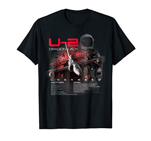 Aviation Tees: U-2 Dragon Lady Spy Plane T-Shirt for sale  Delivered anywhere in USA